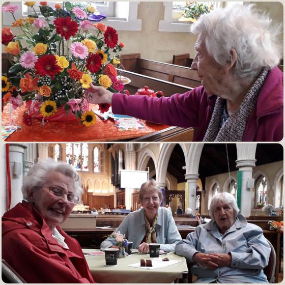 Visit to All Saints Flower Show