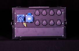 Distribution electrique 32A Mono - Face arrière