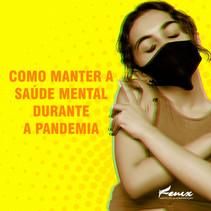 Como manter a saúde mental na Pandemia?