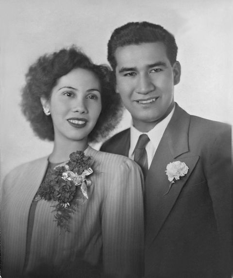 Founders Florencio and Maria Delgado