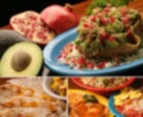 Las Casuelas Terraza Guacamole, Quesadillas, food platters