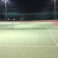 Developing the top spin serve setting up an implicit scenario