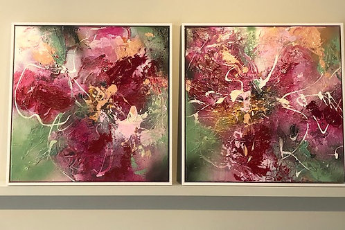 August - diptych
