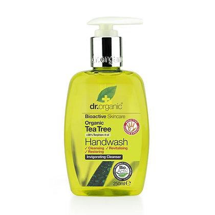 """סבון ידיים עץ התה ד""""ר אורגניק"""
