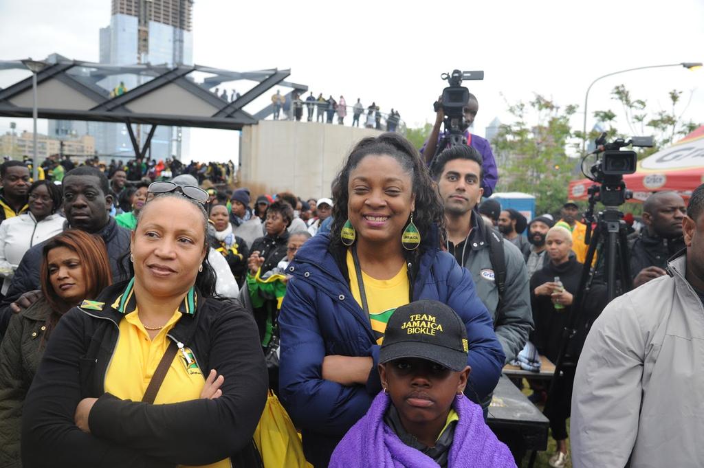 Kudos, Team Jamaica Bickles!