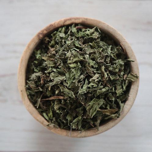 ORGANIC - Crushed Spearmint Leaf