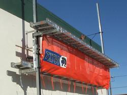 Pump Jack Safety Net, 22' Long