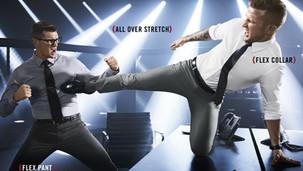 """Van Heusen Flex """"Office MMA"""" comercial"""