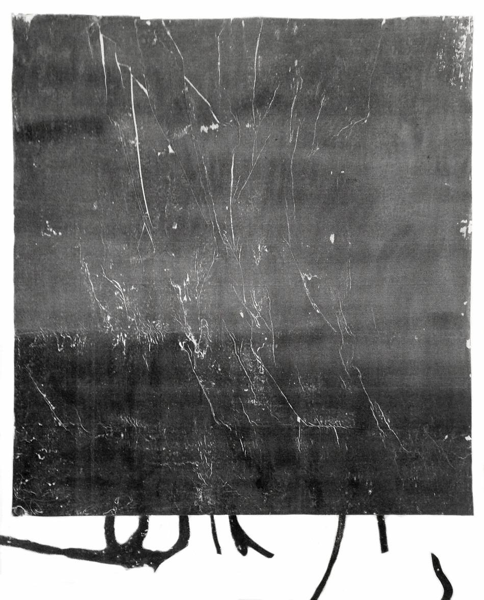 nora teplan, untitled II, interlude series, acrylic transfer on canvas, 110 x 90 cm, 2019