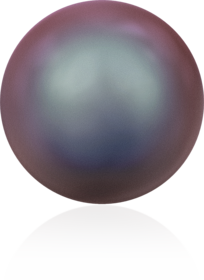 5810-Crystal Iridescent Red Pearl