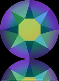 2078-Crystal Scarabaeus Green