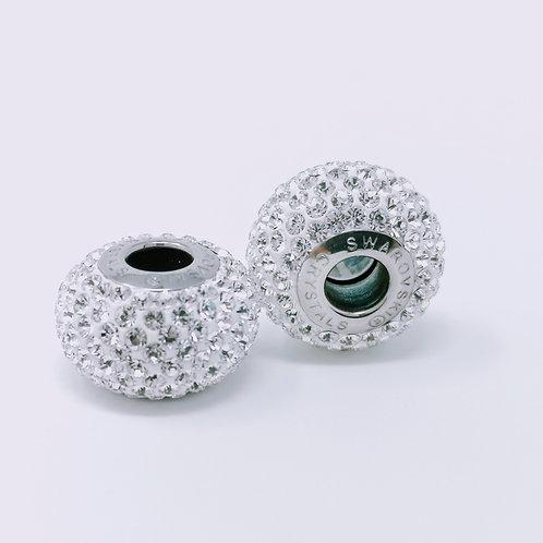 80101- Charm crystal 8 rangs