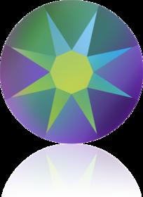2088-Crystal Scarabaeus Green