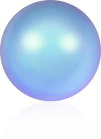 5817-Crystal Iridescent Light Blue Pearl