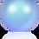 Thumbnail: 5817-Crystal Iridescent Light Blue Pearl