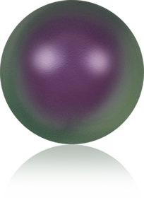 5817-Crystal Iridescent Purple Pearl