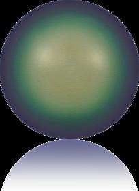 5810-Crystal Scarabaeus Green Pearl