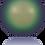 Thumbnail: 5810-Crystal Scarabaeus Green Pearl