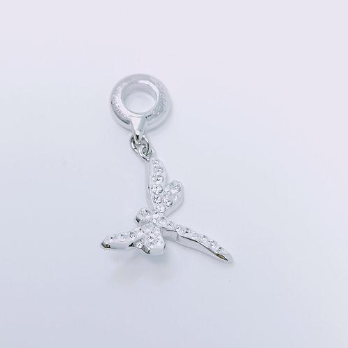 86553 - Charm Dragonfly Chrystal