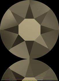 2078-Crystal Metallic Light Gold