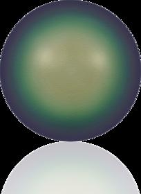 5817-Crystal Scarabaeus Green Pearl