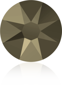 2088-Crystal Metallic Light Gold