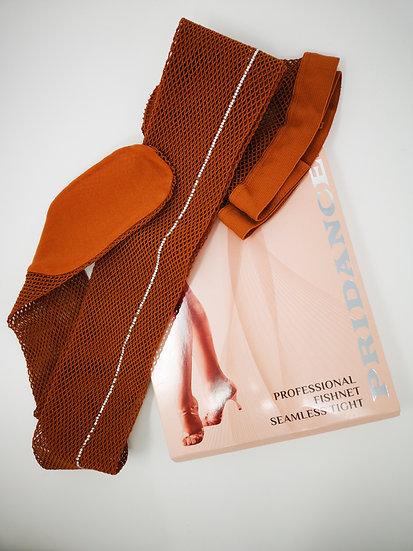 Collants résille avec couture strassée PRIDANCE