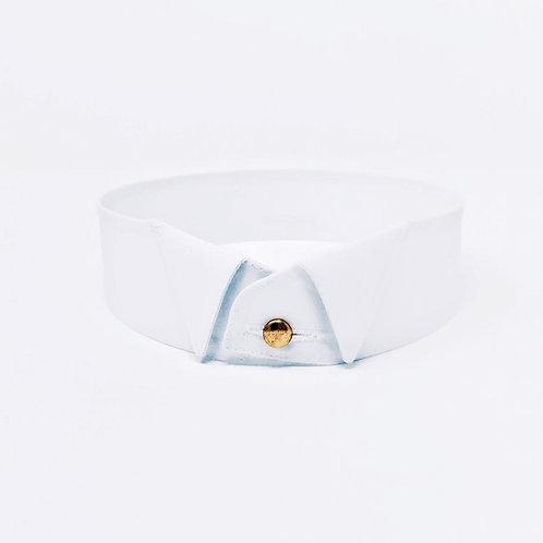 Faux col 2,8cm coton tissus