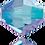 Thumbnail: Light Sapphire Shimmer