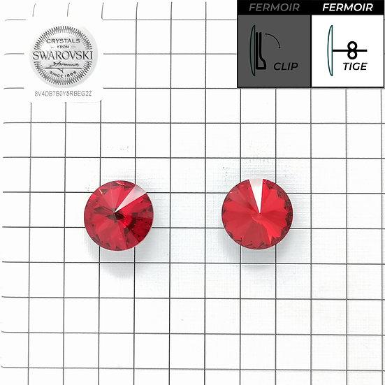 Boucles d'oreille - Rond 1201 14mm - Light Siam