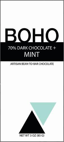70% Dark Chocolate + Mint