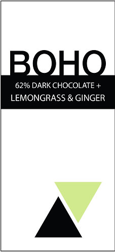 62% Dark Lemongrass and Ginger