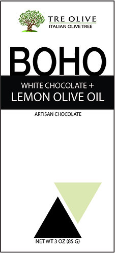 White Chocolate + Lemon Olive Oil