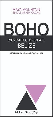 Belize Single Origin 70% Dark Chocolate