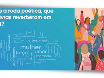 """Roda de Conversa """"Mulheres, saúde e arte: acolhimento em rede como caminho de cuidado mútuo"""""""
