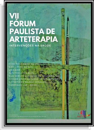 VII Fórum Paulista de Arteterapia Intervenções na Saúde