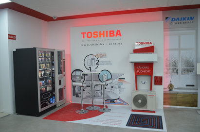 Toshiba - Showroom Alcorcon