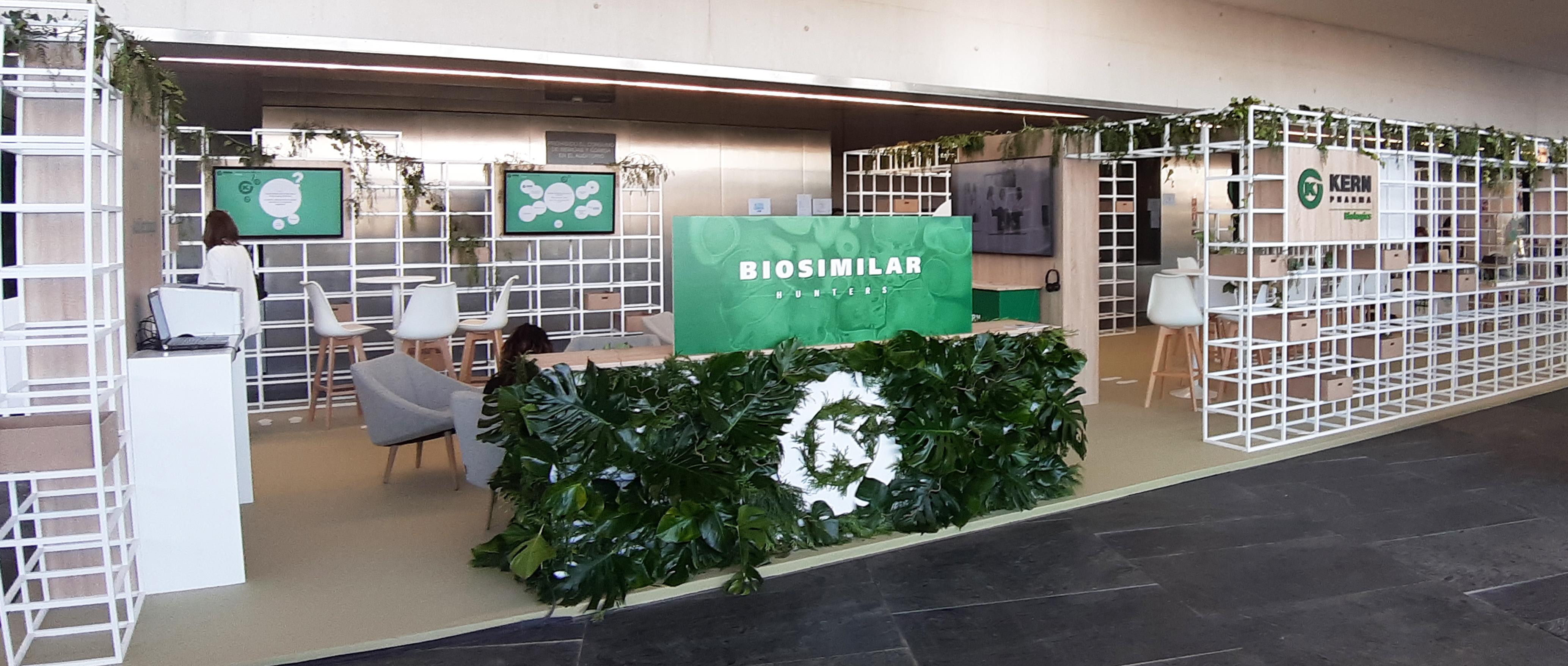 Stand Kern Pharma en el Congreso SEFH 2019 Sevilla