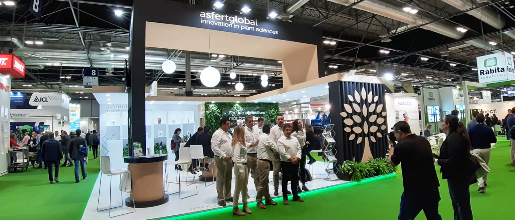 Stand Asfert Global en la feria Fruit Attraction 2019 Madrid