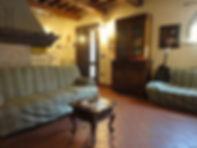 Wohnraum Ferienwohung La Quercia - Agriturismo Bramasole