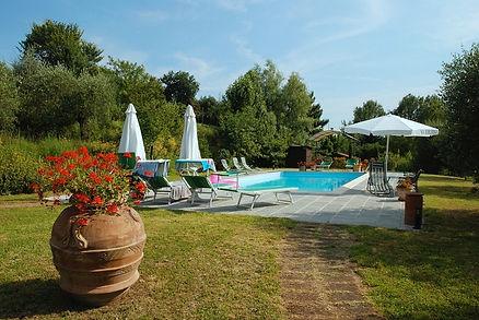 Schwimmbad (11 x 5,5mt) Agriturismo Bramasole