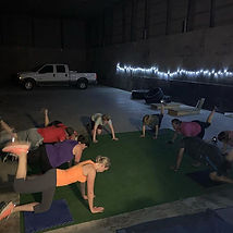 Working out at The Yard means no power..