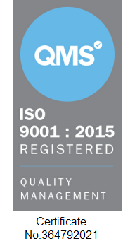 We are officially ISO 9001:2015 Certified