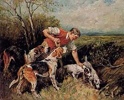 Parson and hounds art work