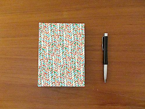 Handmade Casebound Notebook - 100% Cotton Cloth - Blank Paper