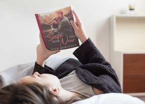 Book of the Month November 2019 - Safe for Now by Suze Robinson