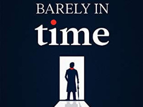 Book of the Month September 2020 - Barely in Time