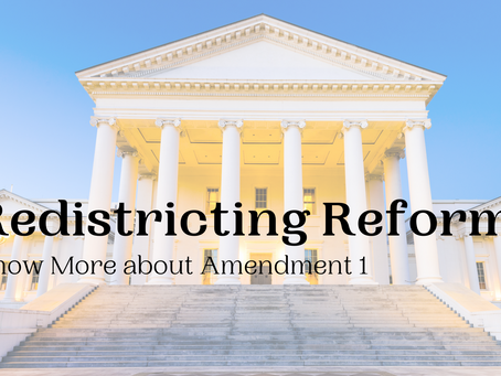 Redistricting Reform in Virginia