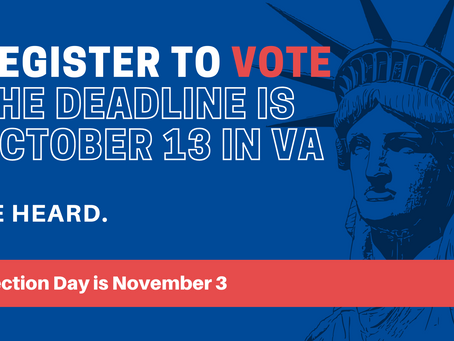 November 3 Election Deadlines