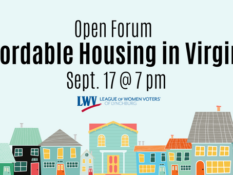 Open Forum on Affordable Housing in Virginia